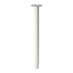 Ikea Olov Leg Adjustable Set of 2 White 102.643.02
