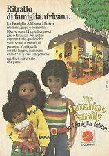 X4345 The Sunshine Family - MATTEL - Pubblicità 1975 - Advertising