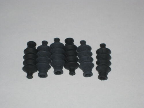 Imperméable Tige Poussoir Joint en caoutchouc à soufflet Grande Taille 10pcs