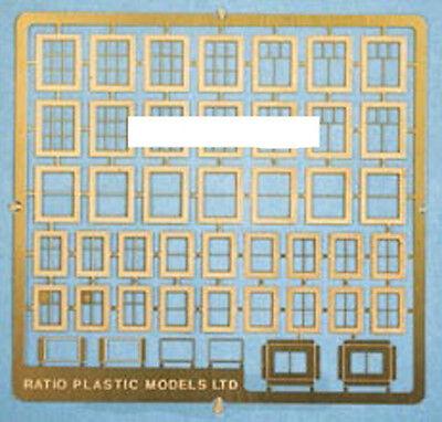 Ratio 310 Domestic Windows - Scratch Building 'N' Gauge Etched Brass Kit 1st Pos