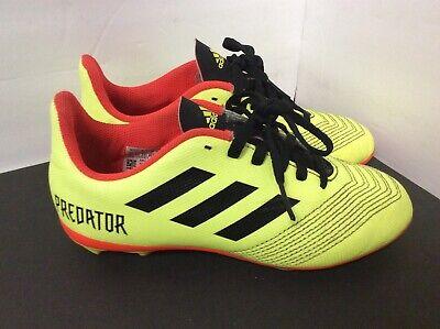 Escalera Tejido aceleración  Adidas Predator 18.4 FxG J Soccer Youth Size 2 Cleats   eBay