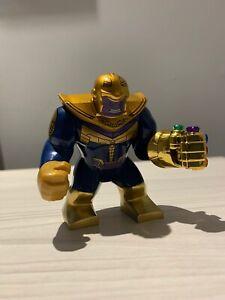 Marvel-THANOS-amp-INFINITY-GAUNTLET-Custom-Brick-Lego-Compatible-Minifigure-UK