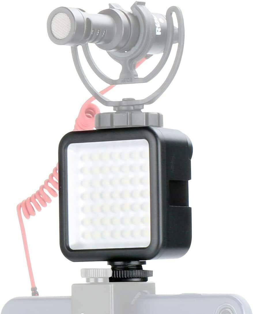 W49 Led Video Light Adjust Brightness Led Pocket Light Bulbs Photo Light With 3