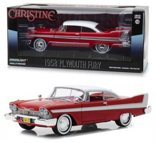 1958 Plymouth Fury Christine Movie 1:24 GreenLight 84071