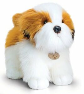 Keel Toys Standing Dog Shih Tzu Bella Soft Toy 30cm Quality Plush