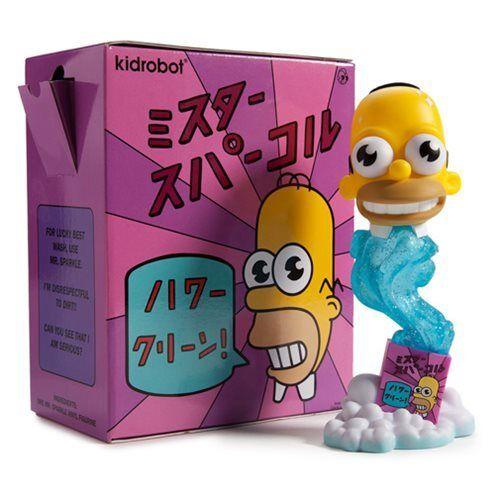 Kidrobot The Simpsons, Mr Sparkle Medium Figur