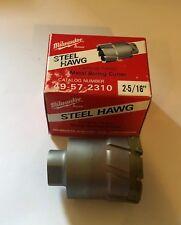 Deep Threaded Shank Cutter Dia Milwaukee 49-57-2310 Steel Hawg 2-5//16 in 2 in