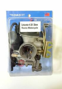 SCOOTER GY6 150cc High Performance OKO 30mm CVK Carburetor with Intake Manifold
