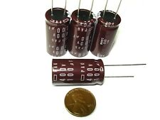 4 pack 100uf 400v 105c Nippon Chemi-Con PAG Series Tube Amp Amplifier Capacitors