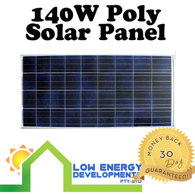 140W 12v Solar Panel Polycrystalline - Freight Inclusive!*