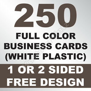 250 custom full color plastic business cards rounded corners image is loading 250 custom full color plastic business cards rounded reheart Images