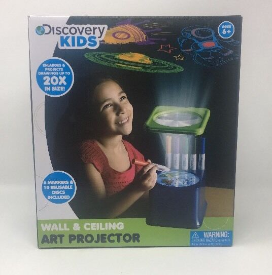 discovery kids wall and ceiling art projector nn5 ebay