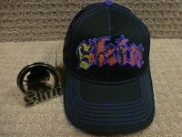 Skin Women's Trucker Hats gothic With Sequins Black+ Free: Buckle Or Lanyard