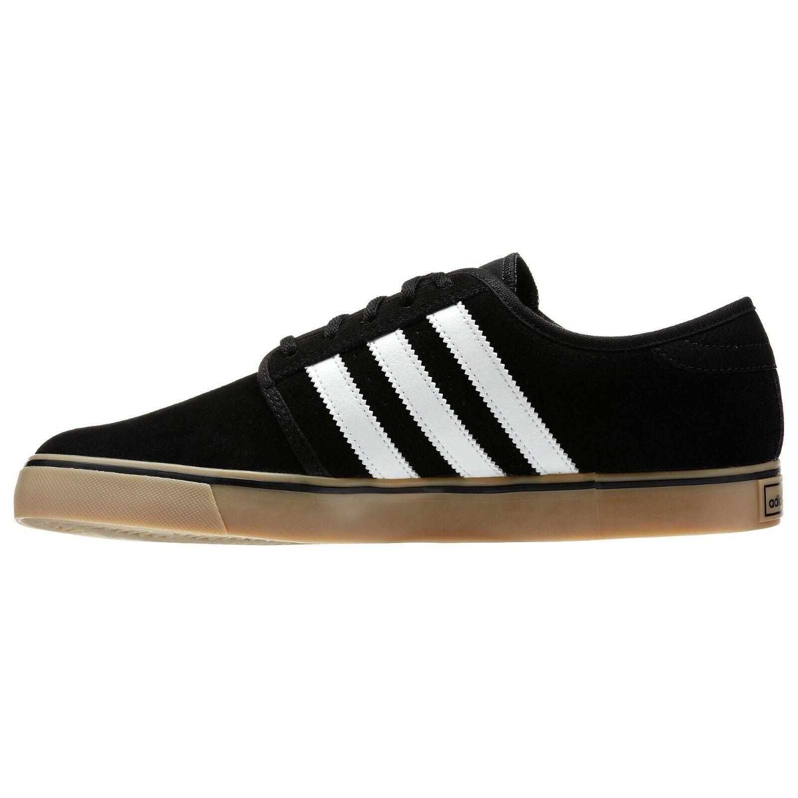 Adidas     seeley   g65525   mens pattinare le scarpe   nero   bianco   gomma | Ben Noto Per Le Sue Belle Qualità  25b27d