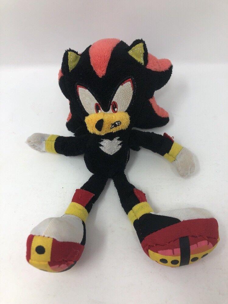 Shadow Sonic Sonic Sonic the Hedgehog Plush 20th Anniversary Hedgehog Toy Figure Jazwares X 3ea8ce