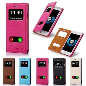 New-S-View-Window-Case-Protective-Shockproof-Phone-Cover-Flip-Wallet-Book-Shell