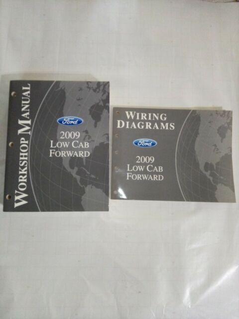 2009 Ford Low Cab Forward Lcf Workshop Manual  Electrical Wiring Diagram Ewd Oem