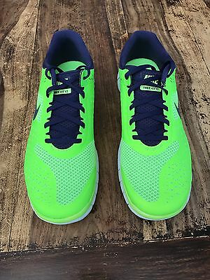 Nike Free 4.0 V2 Green Dark Purple Summer Fluorescence Größe: 45 (UK: 10 US: 11)