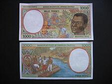 CENTRAL AFRICAN STATES (GABON)  1000 Francs 2000  (P402Lg)  UNC