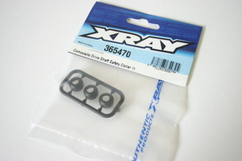 365470 3 XRay XB4 Composite Drive Shaft Safety Collar