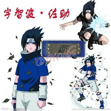 Cafiona Hotsale Naruto Cosplay Accessories Narutpo Ninja Blue Headband Halloween