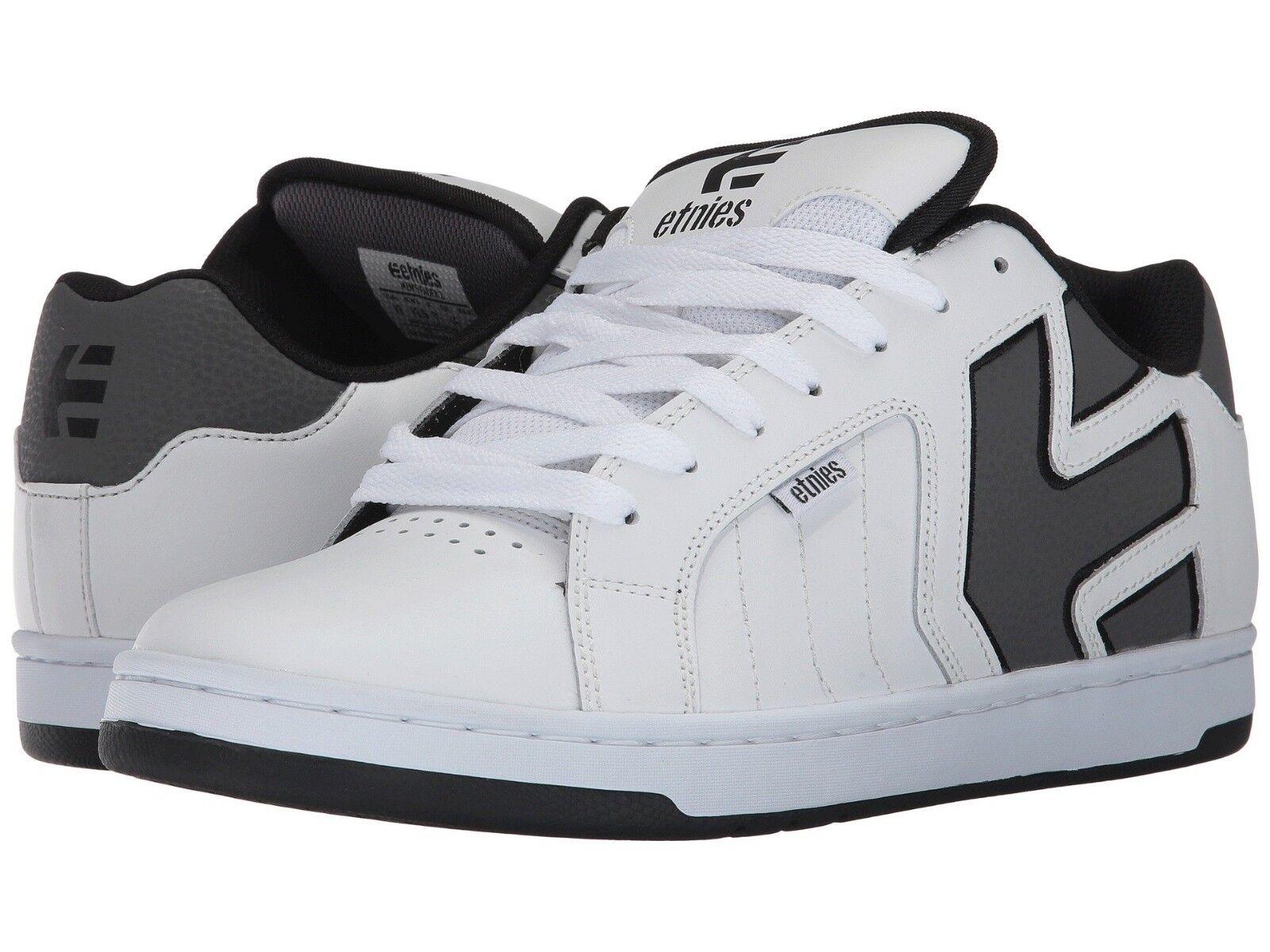 mens etnies fader 2 skateboarden - schuhe nib weiße grau - skateboarden schwarz 848a17