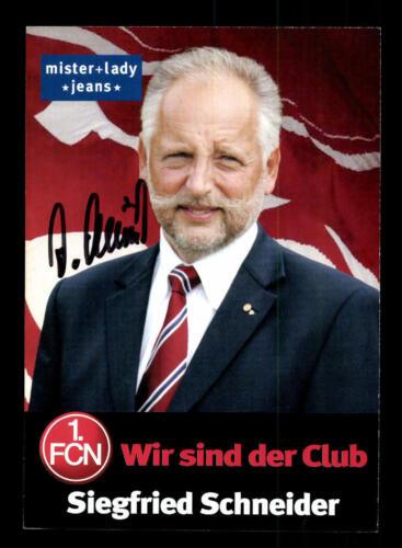 Siegfried Schneider Autogrammkarte 1 FC Nürnberg 2005-06  Original Sign+A25740