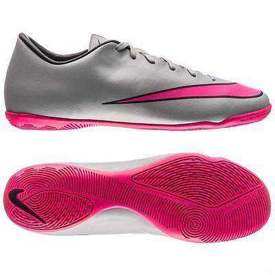 Nike Mercurial Victory V Ic Intérieur Football Futsal CR7 Chaussures Gris Loup | eBay