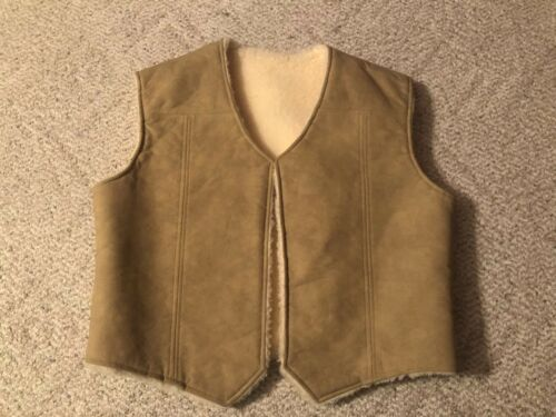 Frostline Vest Kit Vintage Faux leather suede Faux