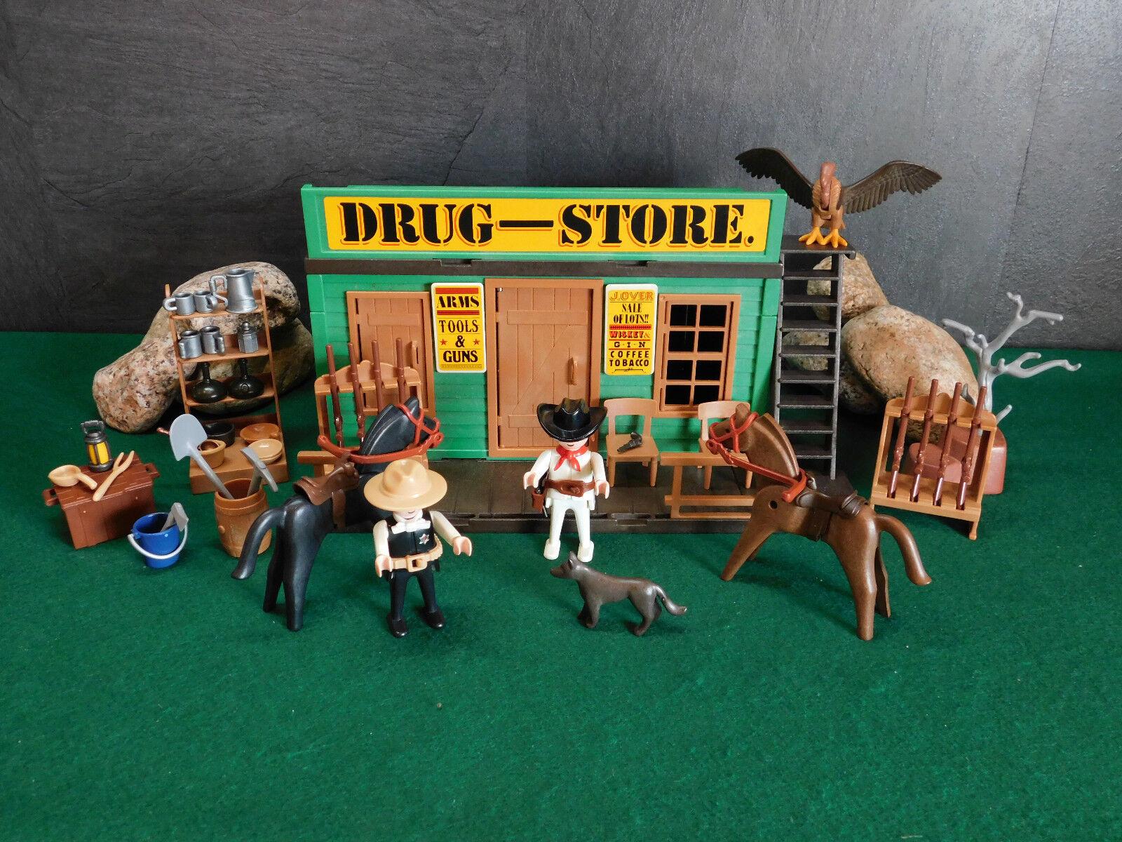 Playmobil Rarität Drug-Store wie 3462-A 1983 III mehr Zubehör ohne OVP