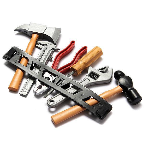 1 Set Children Kids Boy Building Tool Kits DIY Construction Toy Plastic Gifts
