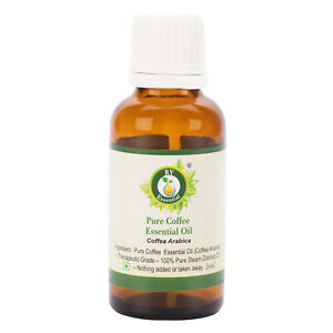 Natural & Alternative Remedies R V Essential pure Coffee Essential Oil 0.338oz Coffea Arabica 100% Natural Profit Small