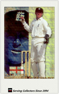 1998/99 Select Cricket Hobby Gold Parallel Trading Card No48 Alec Stewart -Rare
