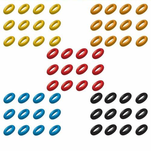24 TARGET Dart Darts Silikon O-Ringe Gummi Ringe ORing Shaft Schaft Gummiringe