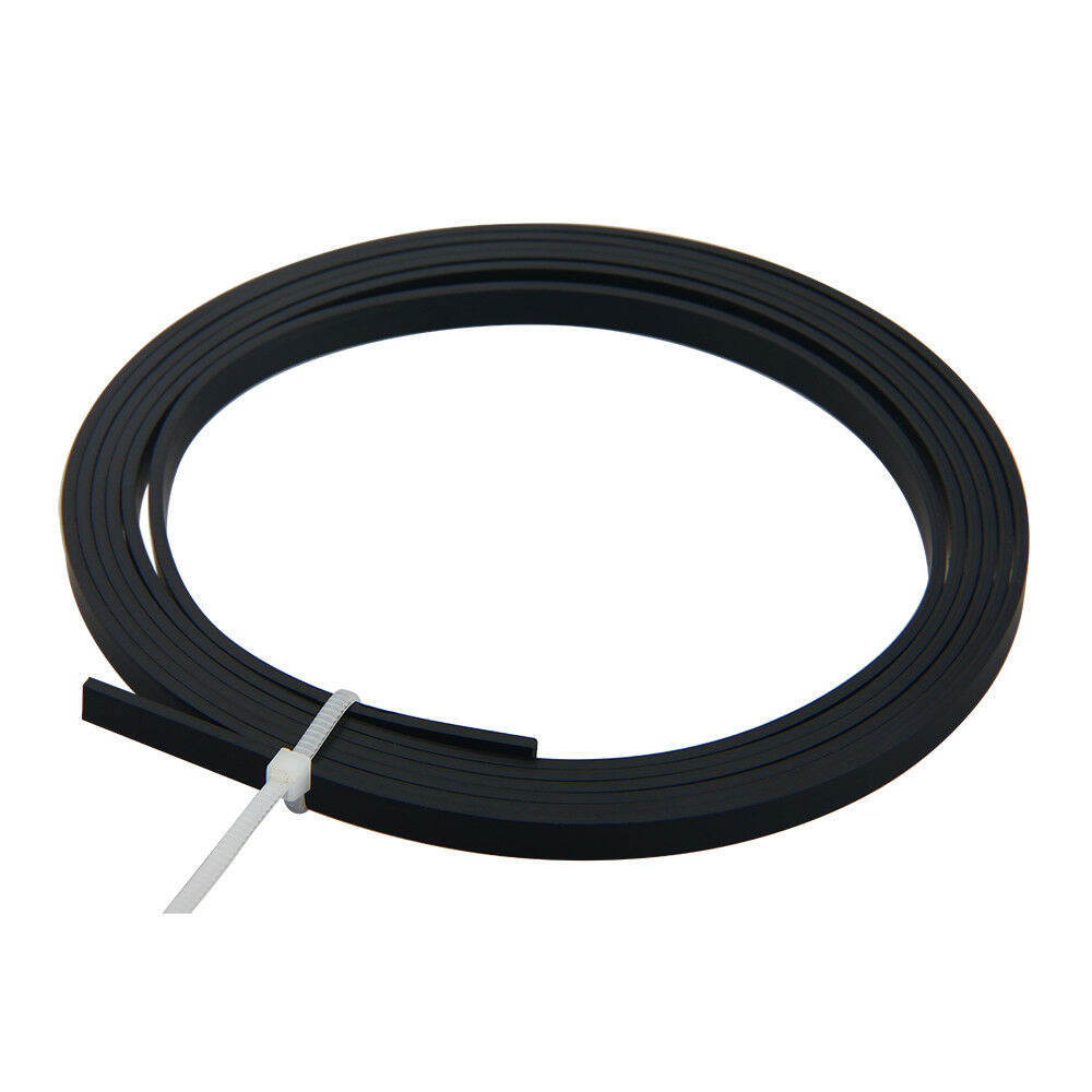 Black ABS Acoustic Guitar Binding Purfling Strip 5Feet