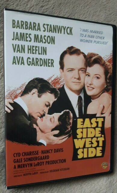 EAST SIDE WEST SIDE (1949) Barbara Stanwyck, James Mason, US REGION 1 DVD