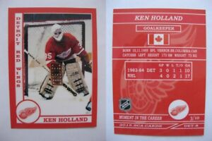 2015-SCA-Ken-Holland-rare-Detroit-Red-Wings-goalie-never-issued-produced-d-10