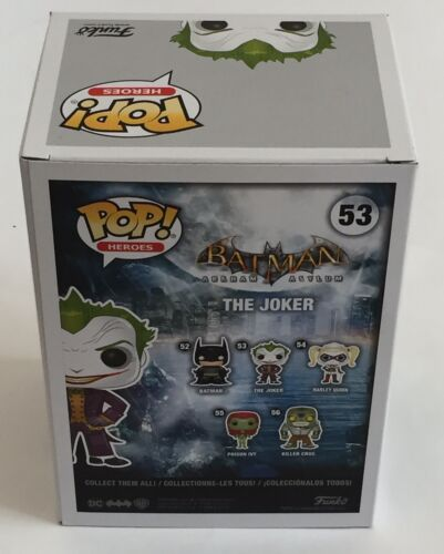 DC Comics Purple Chrome Joker MCM Funko Pop Vinyl Exclusive Batman /& Protector