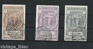 1923-PRO-CASSA-PREVIDENZA-CAMICIE-NERE-serie-completa-usata-Sassone-n-147-9