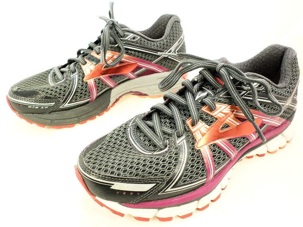 Brooks Women's Adrenaline GTS-17 Running shoes, Grey, 7.5 W US