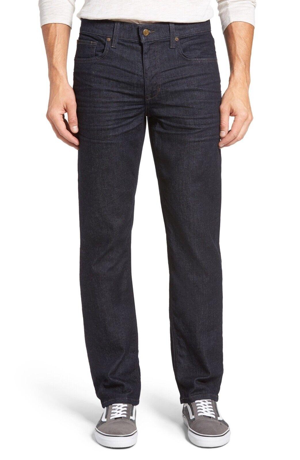 Joes Jeans Men's Classic Fit Straight Leg Jean Dark bluee Denim Many Sizes