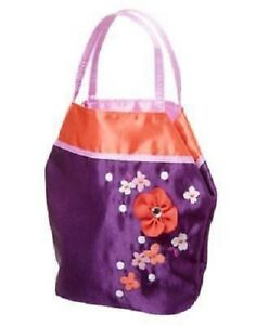 GYMBOREE-Cherry-Blossom-Collection-Purple-Floral-Purse-Pocketbook-Bag-NEW