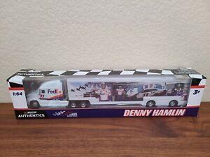 2020 Wave 3 Denny Hamlin Fedex Daytona 500 Win Hauler 1 64 Nascar Authentics Ebay