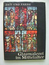 Glasmalerei im Mittelalter von Heribert Hutter von 1963 Glas Malerei