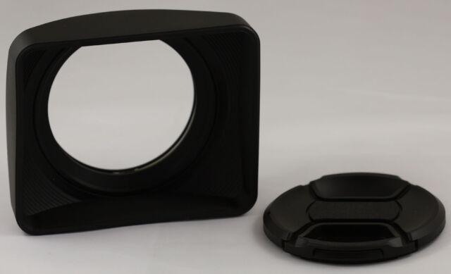 72mm PRO Video Lens Hood W Cap for Panasonic AG-HPX250 HPX250 HMC-150 AG-HPX170P