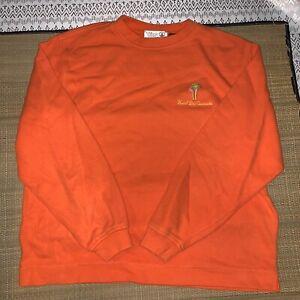 Hotel-Del-Coronado-Orange-Long-Sleeve-Top-Shirt-Palm-Woman-039-s-Small