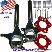 Chassis Tech 2004-2014 Titan Front 6.5 Rear 5 Lift Spindle/spacer 5 Blocks