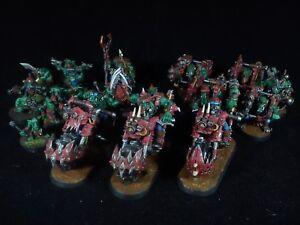 Ork-Armee-4-Warhammer-40k-bemalt