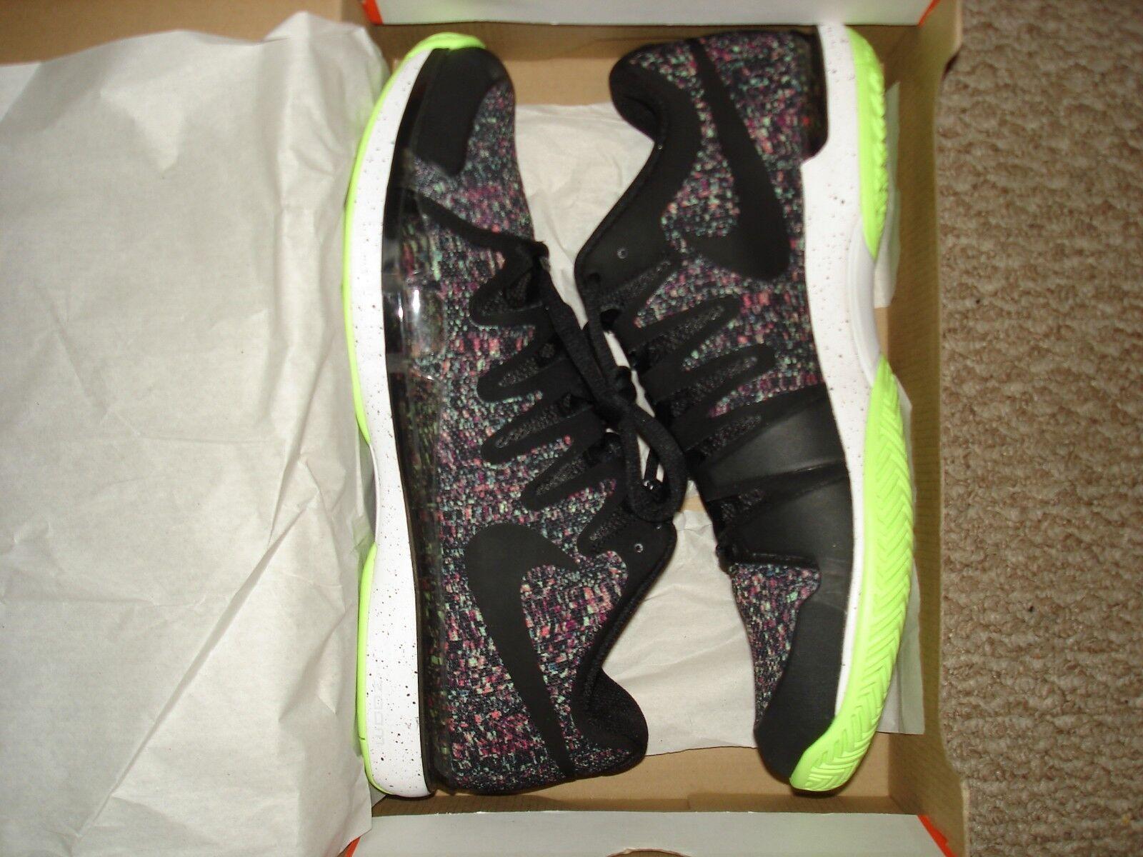 NIB Nike Federer Zoom Vapor 9.5 Tour QS London Tennis shoes 852768-900