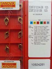 Dcmt 070204-mf 1025 Sandvik placas de inflexión nuevo incl. 19% de IVA.